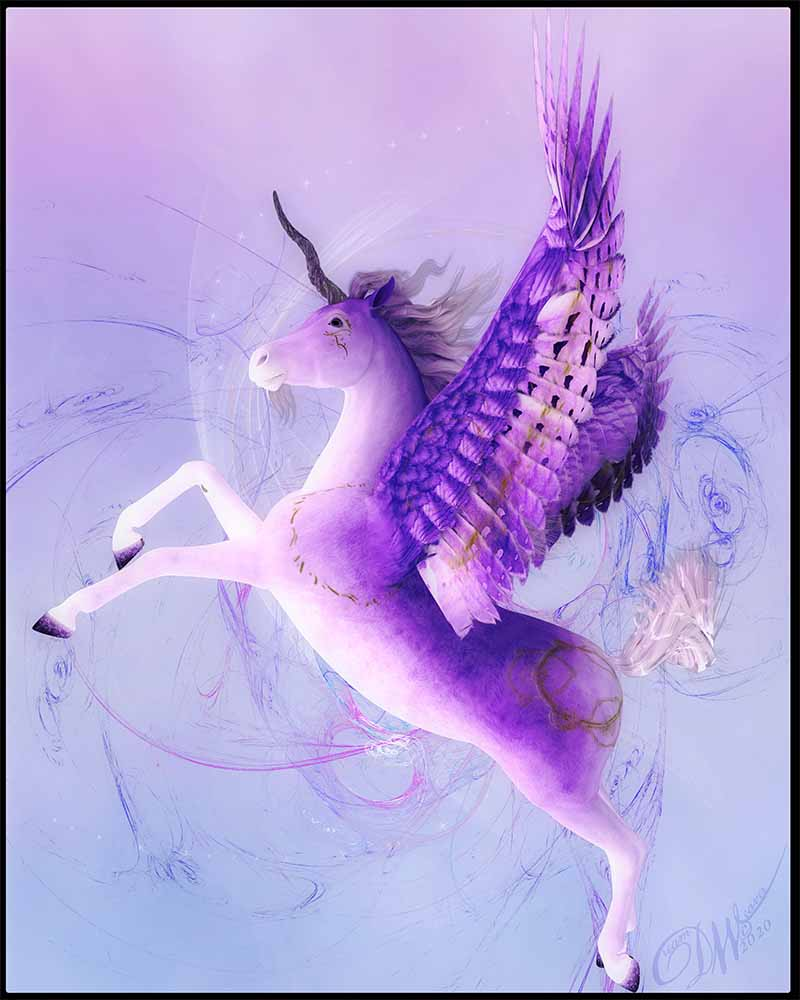 Aether - Unicorn Art Prints & Posters