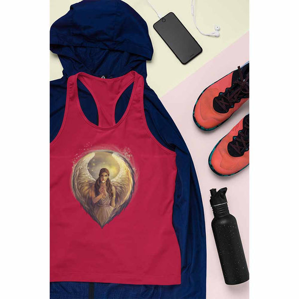 Angel in the Morning - Women's Angel Tank Top