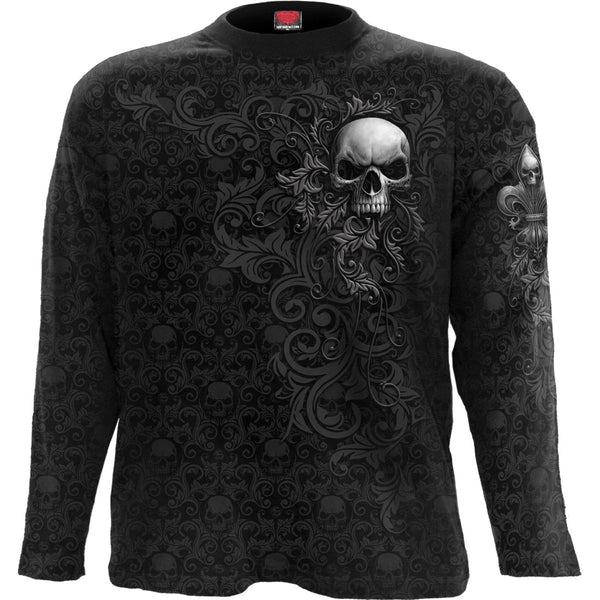 Blooming Death - Black Longsleeve T-Shirt