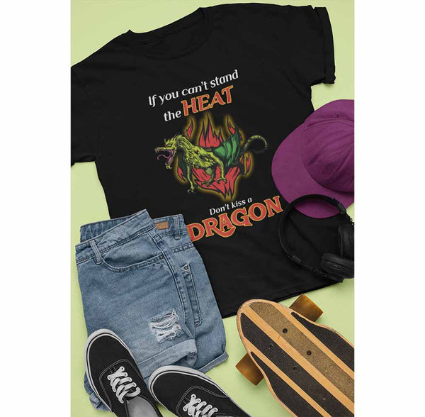 Don't Kiss A Dragon - Unisex Dragon T-shirt