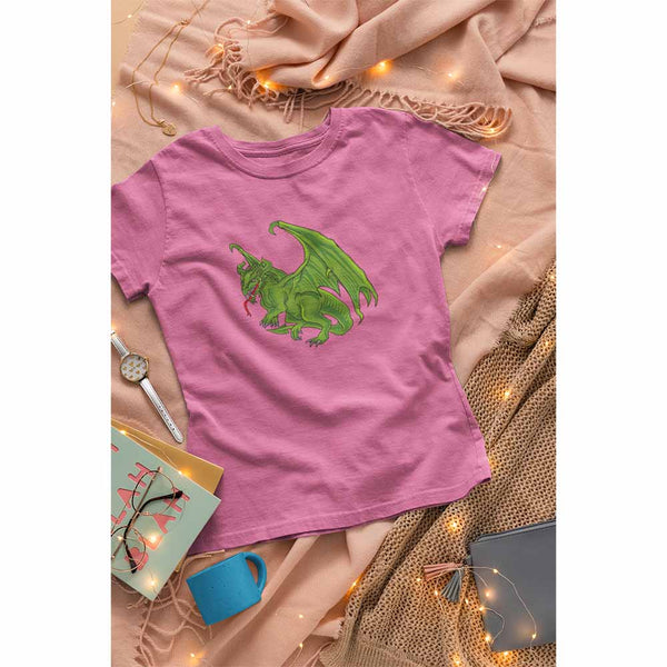 Dragon of the East - Women's Dragon T-shirt