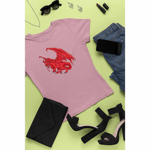 Dragon of the West - Women's Dragon T-shirt