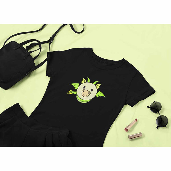 Dragon Bug - Green - Women's Dragon T-shirt