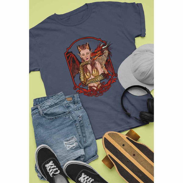 Dragon Lady - Unisex Dragon T-shirt