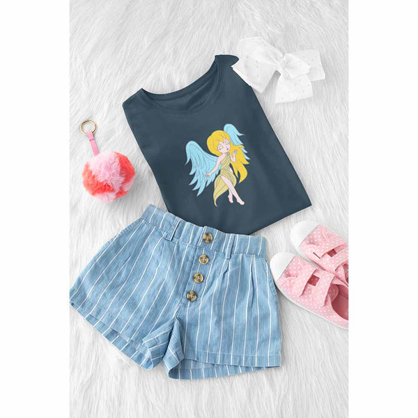 Girl's Princess Angel T-shirt: Fashionista Angel