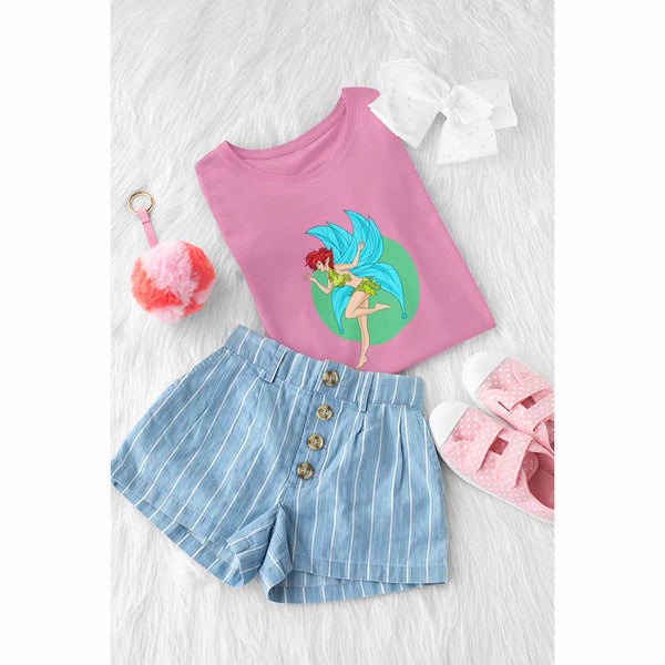 Fiona Flutterby - Girl's Princess Fairy T-shirt