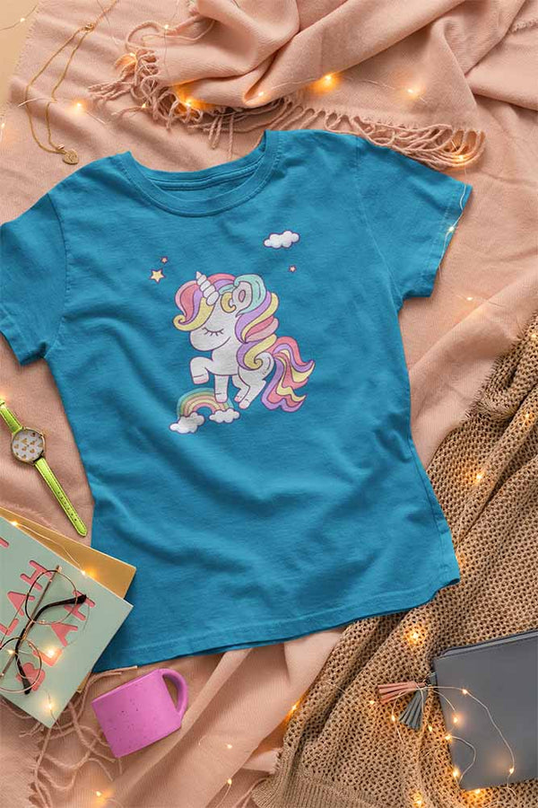 Frannie Cloudjumper - Women's Unicorn T-shirt