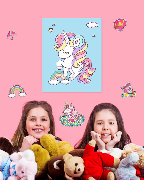 Frannie Cloudjumper - Unicorn Art Prints & Posters