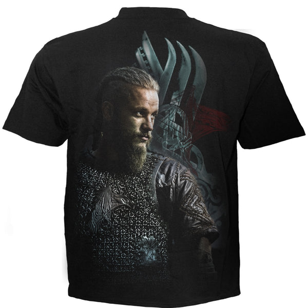 Ragnar - Vikings - Black T-Shirt