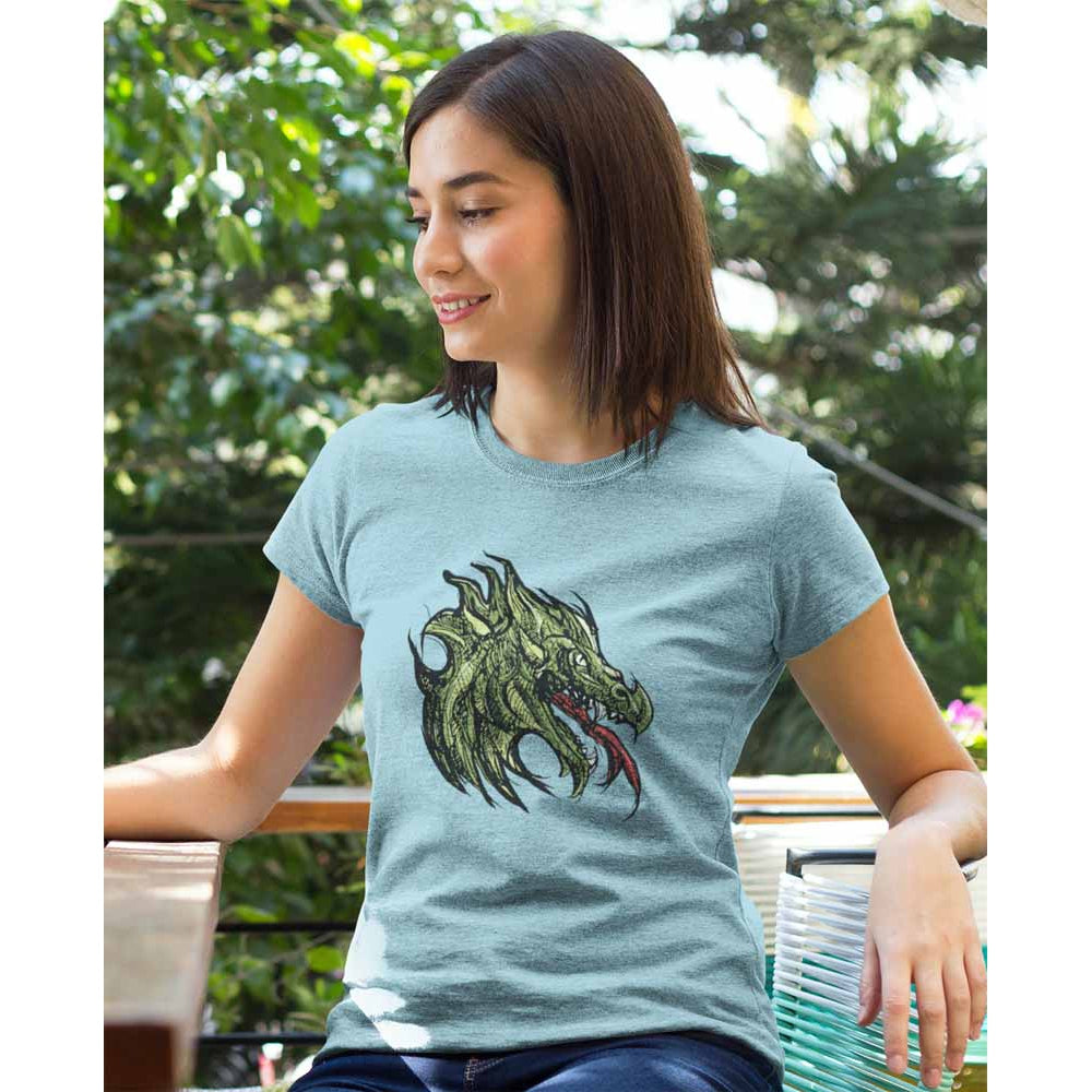 Gorb the Father of Dragons - Women's Dragon T-shirt