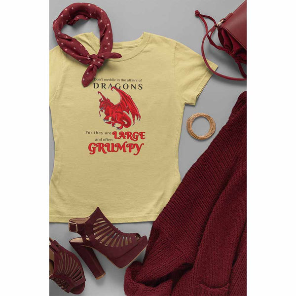 Large and Grumpy - Women's Dragon T-shirt