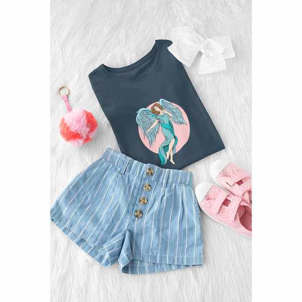 Look Homeward Angel - Girl's Princess Angel T-shirt