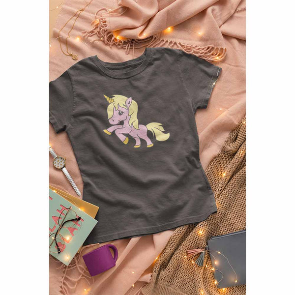 Magikal - The Baby Unicorn - Women's Unicorn T-shirt