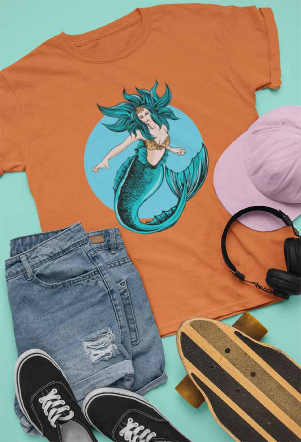 Maritha Longtail - Unisex Mermaid T-shirt