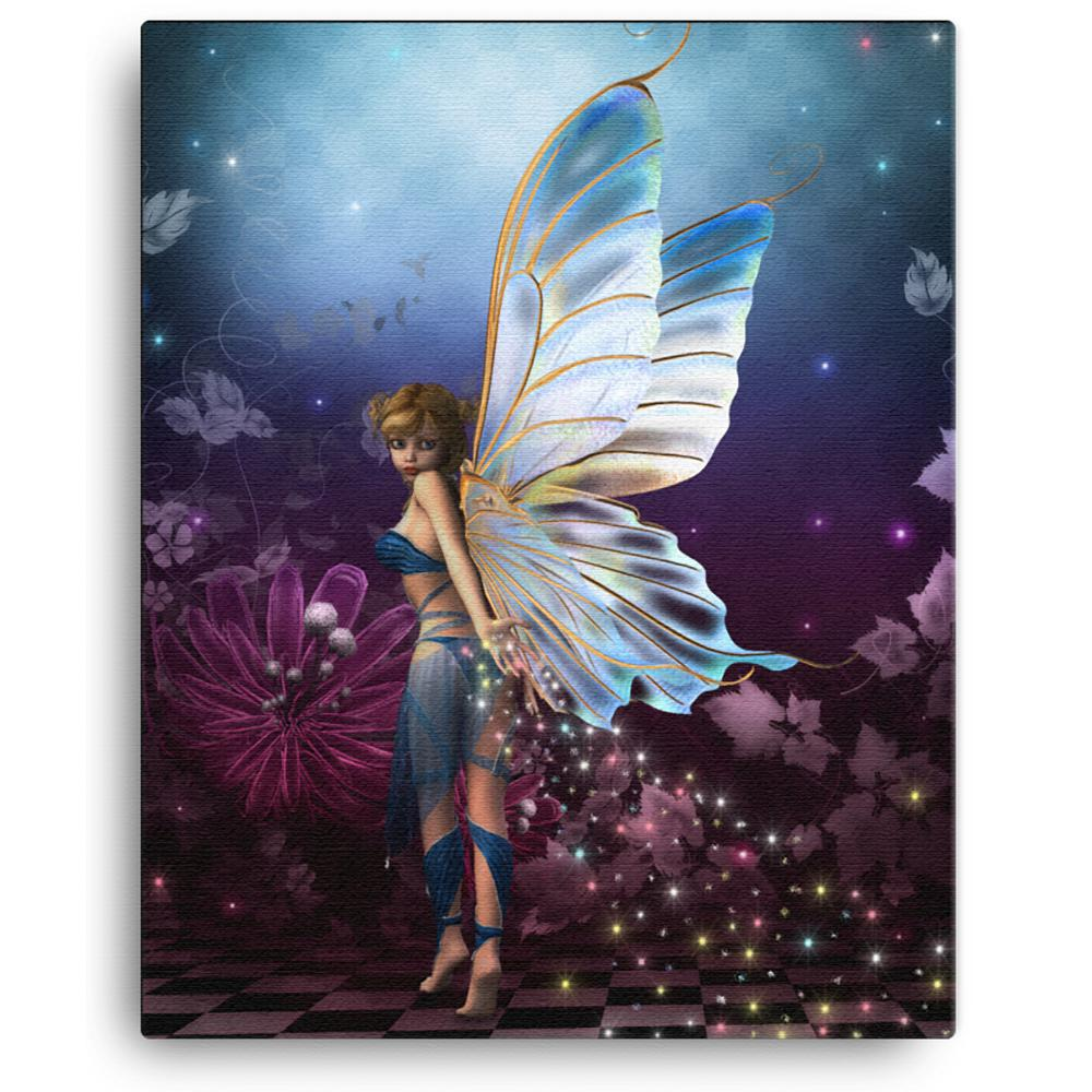 "Signed and Numbered Canvas Print: ""Pixie Dust"" by Rick Merriman - Limited Edition"