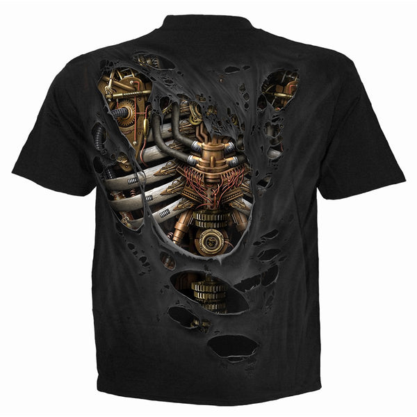 Eat Your Clockwork Heart Out - Black Unisex T-Shirt