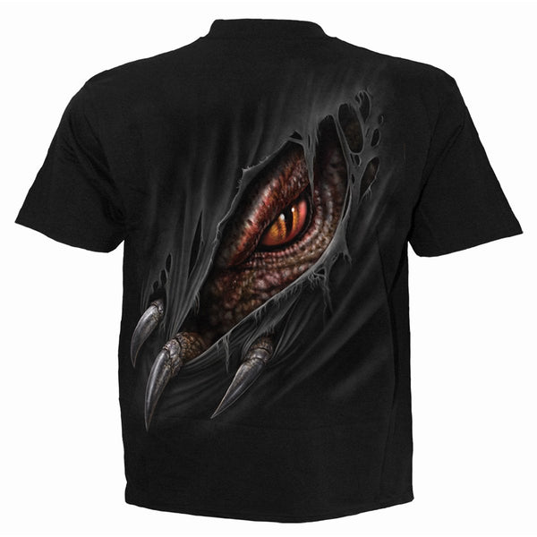 The Dragon's Hiss - Unisex Dragon T-shirt