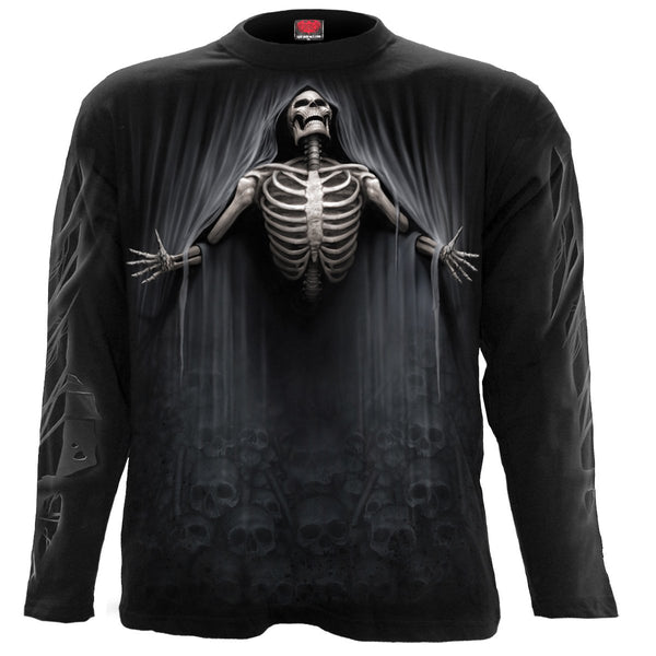 Liberated Death - Black Longsleeve T-Shirt