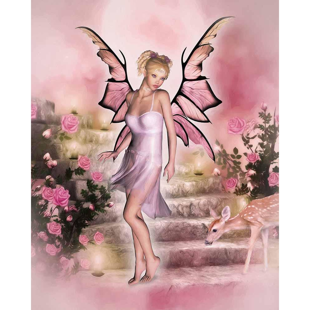 The Pink Fairy - Fairy Art Prints & Posters