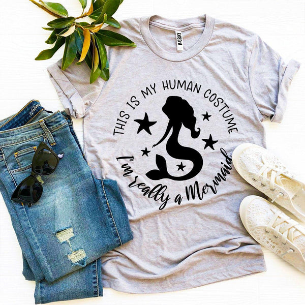 Mermaid in Disguise T-shirt