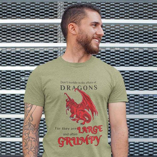 Large and Grumpy - Unisex Dragon T-shirt