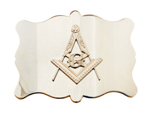 Plain Masonic Chrome