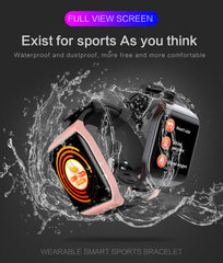 KSUN KSS901 Smart Bracelet Band With Heart rate Monitor ECG Blood Pressure IP68 Fitness Tracker Wrisatband Smart Watch