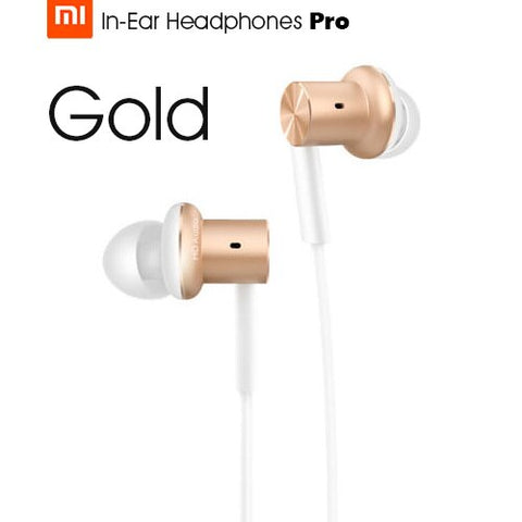 Original Xiaomi Hybrid Pro HD / Hybrid Pro Earphone Triple / Dual Driver Dynamic + Balanced Armature Mi In-Ear Line Control Mic