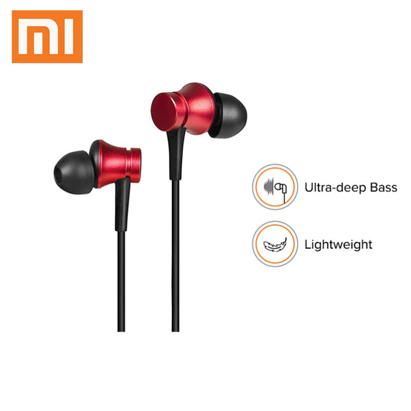 Xiaomi Mi Earphone PISTON 3 Sports Fresh Basic Version 3.5mm In-ear Earphones Earbuds with Mic for Mi A1 Redmi Note 7 8 K20 Pro