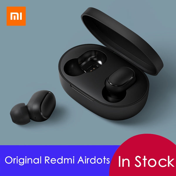 Xiaomi Mi Redmi AirDots TWS Wireless Bluetooth Earphone Stereo Bluetooth 5.0 Mini Headset With Mic Earbuds