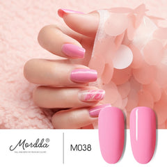 MORDDA Nail Gel Polish UV LED Gel Varnish Soak Off Gel Lacquer For Manicure Hybrid Painting Need Matte Top Coat For Home Use DIY