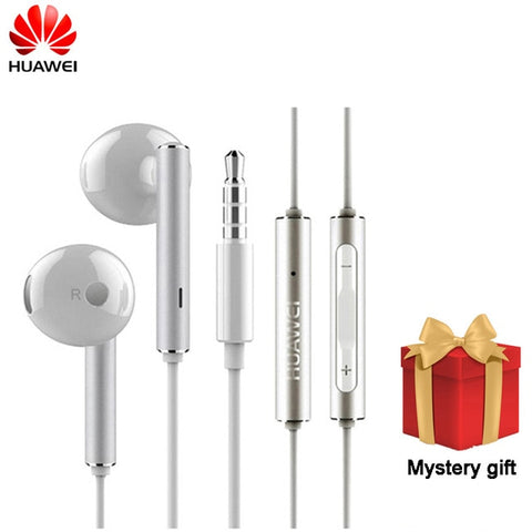 Original Huawei Honor AM116 Earphone Metal With Mic Volume Control For HUAWEI P7 P8 P9 Lite P10 Plus Honor 5X 6X Mate 7 8 9