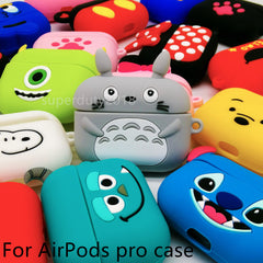 Cute Case For Airpods Pro Case Wireless for apple airpods Pro 3 Case Cover For Air Pods pro Silicone Headphones Case Protective