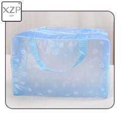 XZP 2020 New Fashion Waterproof Portable Makeup Cosmetic Toiletry Travel Makeup Cosmetic Wash Toothbrush Pouch Organizer Bag