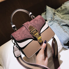 SWDF New High Quality Women Handbags Bag Designer Bags Famous Brand Women Bags Ladies Sac A Main Shoulder Messenger Bags Flap