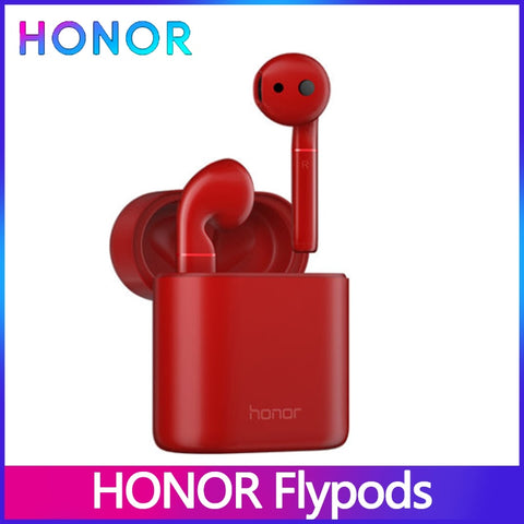 Huawei Honor Flypods Wireless Headphones Hi-Fi TWS Bluetooth Headphone Earphone Waterproof IP54 Tap control Wireless Charge