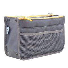 Organizer Insert Bag Women Nylon Travel Insert Organizer Handbag Purse Large liner Lady Makeup Cosmetic Bag Cheap Female Tote