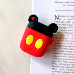 For Airpods Case Silicone Stitch Cartoon Cover for Apple Air pods Cute Earphone Case 3D Headphone case for Earpods Accessories