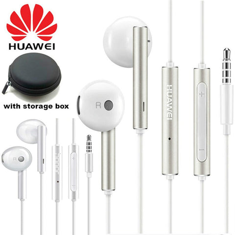 Original Huawei Earphone am116 Honor AM115 Headset Mic 3.5mm for HUAWEI P7 P8 P9 Lite P10 Plus Honor 5X 6X Mate 7 8 9 smartphone