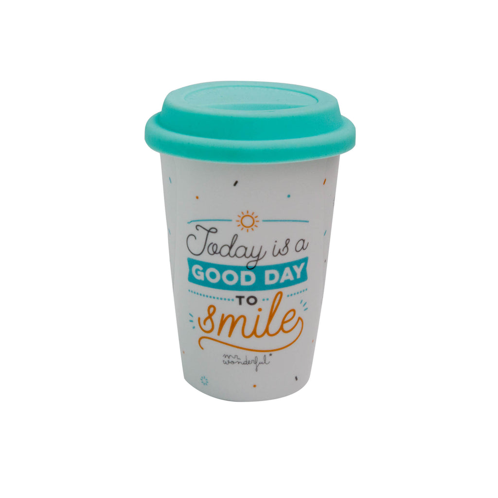 TAZA TAKE AWAY TODAY IS A GOOD DAY TO SMILE