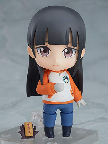 Shirase Kobuchizawa Nendoroid Action Figure front grey background