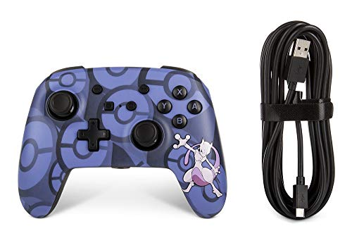 Wired Officially Licensed Controller For Nintendo Switch - Mewtwo (Nintendo Switch)