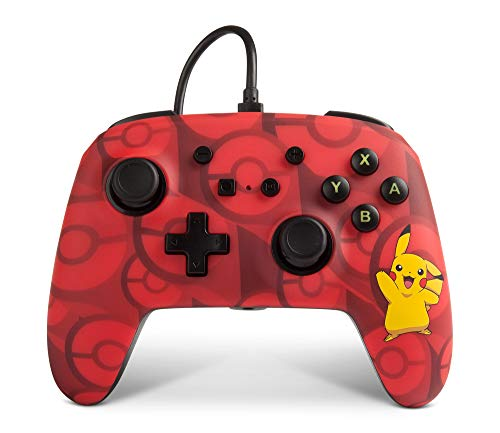 Power A Nintendo Switch Wired Controller for Nintendo Switch, Pikachu