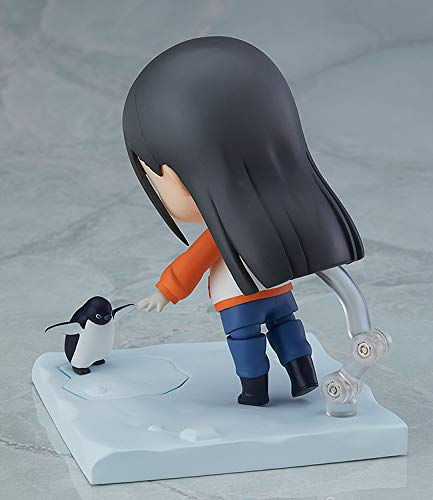 Shirase Kobuchizawa Nendoroid Action Figure back penguin