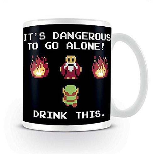 Nintendo - The Legend of Zelda Mug - Drink This.