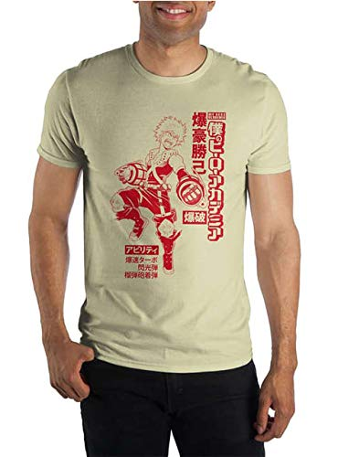 My Hero Academia Izuku Midoriya Men's Yellow T-Shirt