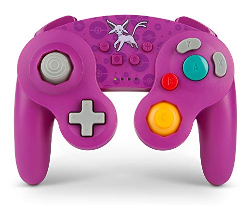 PowerA Pokemon Wireless GameCube Style Controller for Nintendo Switch - Espeon