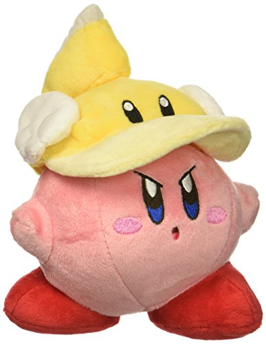 Little Buddy 1678 Kirby Adventure All Star - Cutter Kirby 2 Plush, 6""