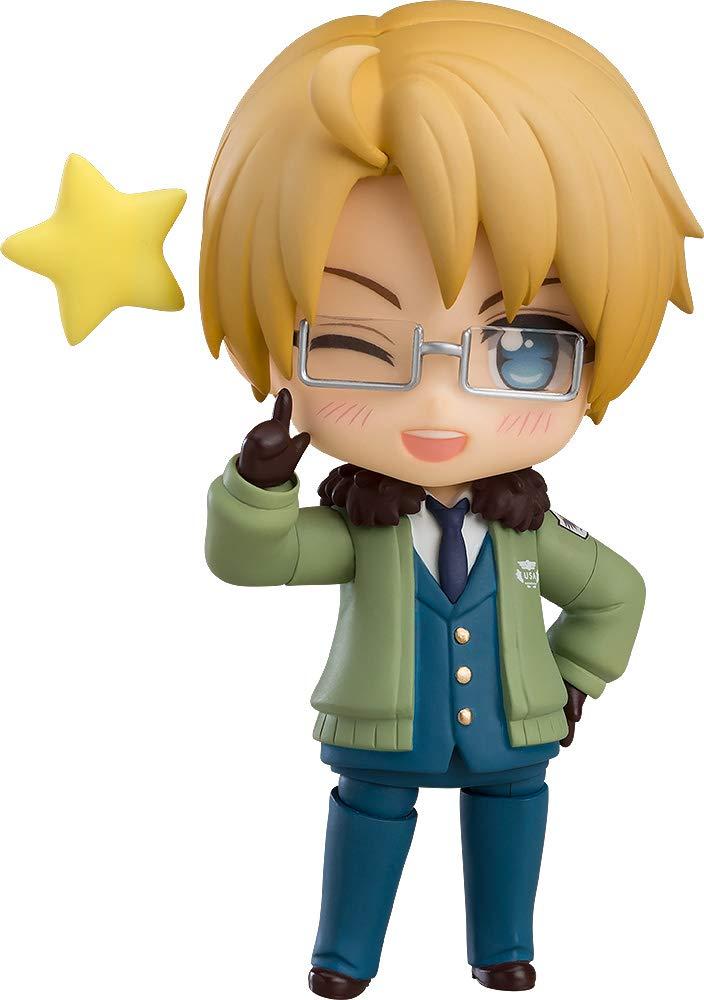 Nendoroid Hetalia World ☆ Stars America Non-Scale ABS & PVC Painted Action Figure