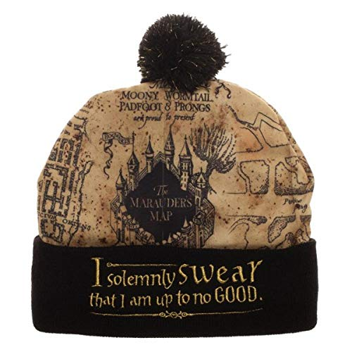 Harry Potter - Marauders Map Beanie Standard